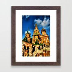 Moscow, Russia. Framed Art Print