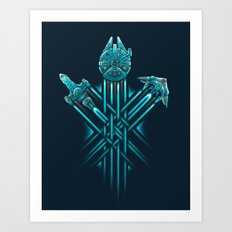Rebel Paths Art Print