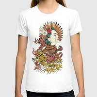 Fem Fatale Womens Fitted Tee White SMALL