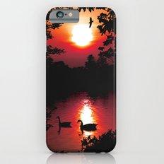 Swan Shine iPhone 6s Slim Case