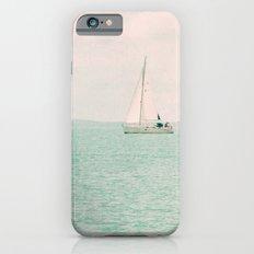 white ship iPhone 6 Slim Case