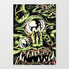 Big Monsterface Canvas Print