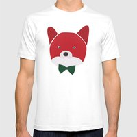 Fox Vermelha Mens Fitted Tee White SMALL