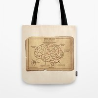 Food education for Zombies Tote Bag