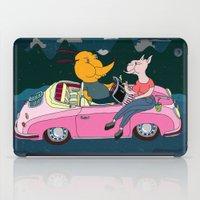 LOS PENCALES EN VIVO!!! iPad Case