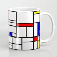 Mondrian inspired Mug