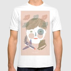 Lord of the Flies SMALL White Mens Fitted Tee