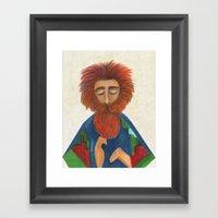 Truth Seeker Framed Art Print