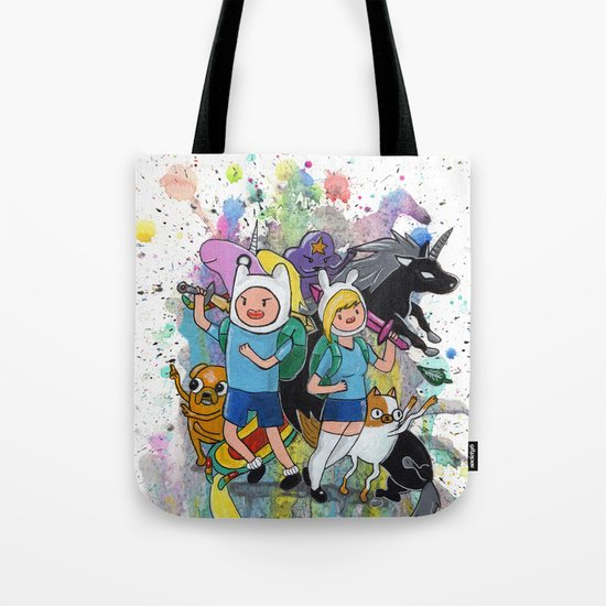 It's Time... It's ADVENTURE TIME Tote Bag