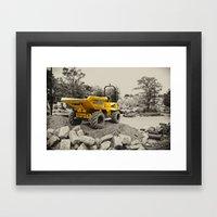 Tadcaster Dumper  Framed Art Print
