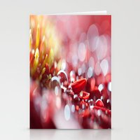 Red For Today Stationery Cards