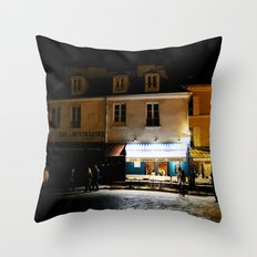 Montmartre Paris Throw Pillow