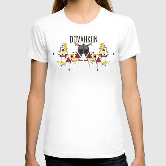 Skyrim: The Dovahkiin - RED (Skyrim) T-shirt