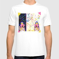 Cupid Waiting List Mens Fitted Tee White SMALL