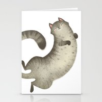 Happy Kitty Stationery Cards