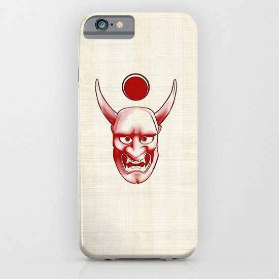 Oni over the sea iPhone & iPod Case