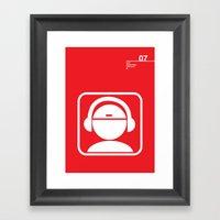 07_iconobmx_Z Framed Art Print