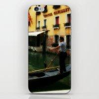 Venice Gondola 1 iPhone & iPod Skin