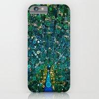 :: Peacock Caper :: iPhone 6 Slim Case