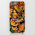 Orange Dahlia iPhone & iPod Case