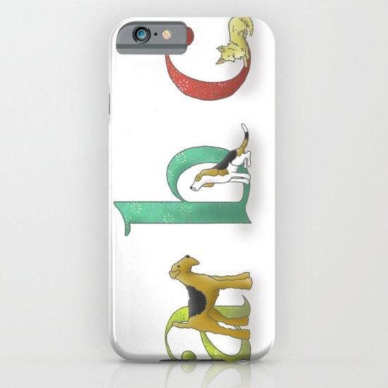 alphabet dogs iPhone & iPod Case