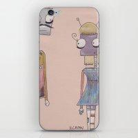 bot love. iPhone & iPod Skin