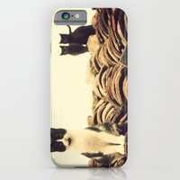 iPhone & iPod Case featuring gatos en el tejado by guxuri