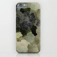 FLORAL OLIVE iPhone 6 Slim Case