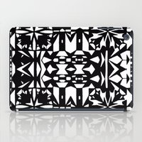 Black and White Square 3  iPad Case