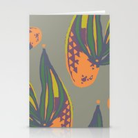 pina flower Stationery Cards