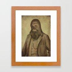 Chancellor Chewman  Framed Art Print