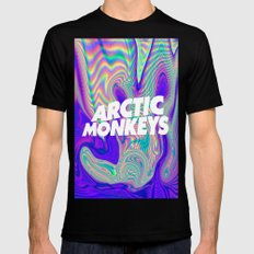 Psychedelic Arctic Monke… Mens Fitted Tee Black SMALL