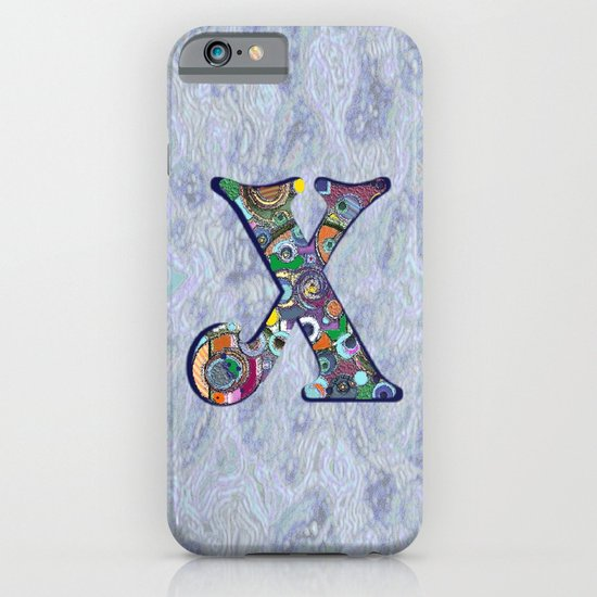 The Letter X iPhone & iPod Case