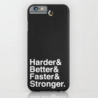 Harder, Better, Faster, Stronger. (Daft Punk) iPhone 6 Slim Case