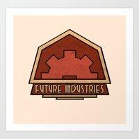 Future Industries Art Print