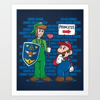 Your Princess Is In Anot… Art Print