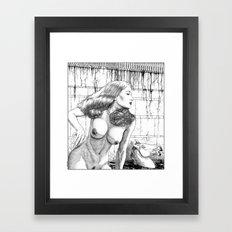 asc 652 - La femme fatale (Death by beauty) Framed Art Print
