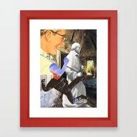 Spiritual Freefall Framed Art Print