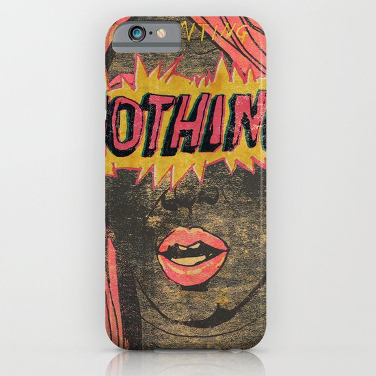 Presenting NOTHING iPhone & iPod Case