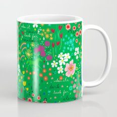 Emarald Rain-Pattern Mug