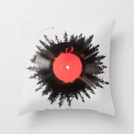 The Vinyl Of My Life Throw Pillow