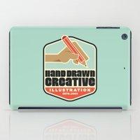 Hand Drawn Creative Artprint iPad Case