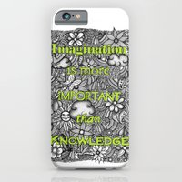 iPhone & iPod Case featuring Imagination is More by Lorrie Whittington