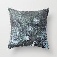 Hemlock Gorge Throw Pillow