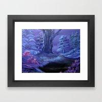 Oriental Oak Framed Art Print