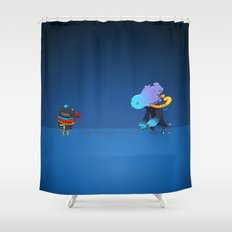 Thread Troll Shower Curtain