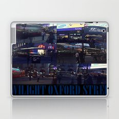 TWILIGHT OXFORD STREET Laptop & iPad Skin