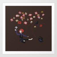 Memory Tree Art Print