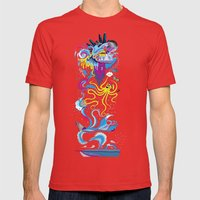 Every Time A Whale Blows… Mens Fitted Tee Red SMALL