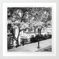 Soho Brownstone Art Print